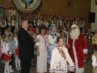 Новорічна подорож Діда Мороза та Снігуроньки