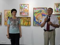 Відкриття виставки юних художників відділення образотворчого мистецтва Вінницької  дитячої школи мистецтв в регіональному центрі  сучасного мистецтва »Арт-Шик»