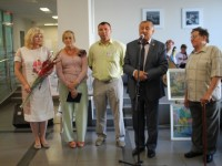 Відкриття виставки  творчих робіт »З любов'ю до України» Ступнікова Олександра Михайловича