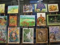 Ювілейна звітна виставка творчих робіт учнів відділення образотворчого мистецтва  » Палітра творчості»